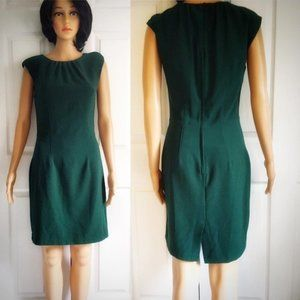 🌸 Dark Green H&M Dress Size 8